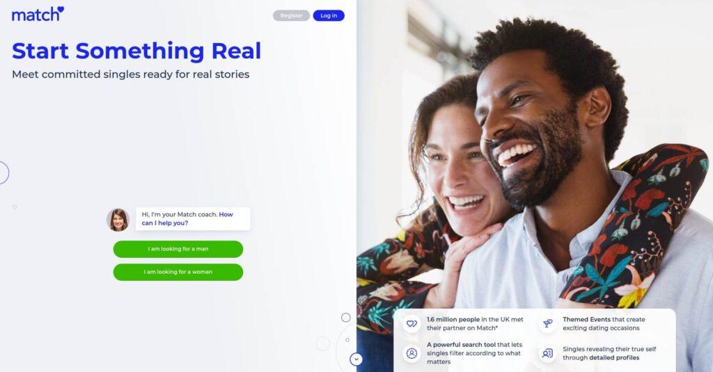 Match dating Unique Features