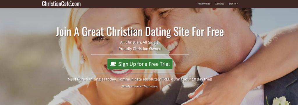 Christian Café Profile Settings