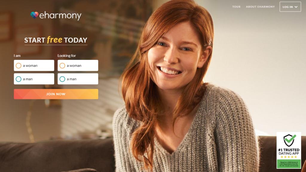 eHarmony dating site Matches Quality