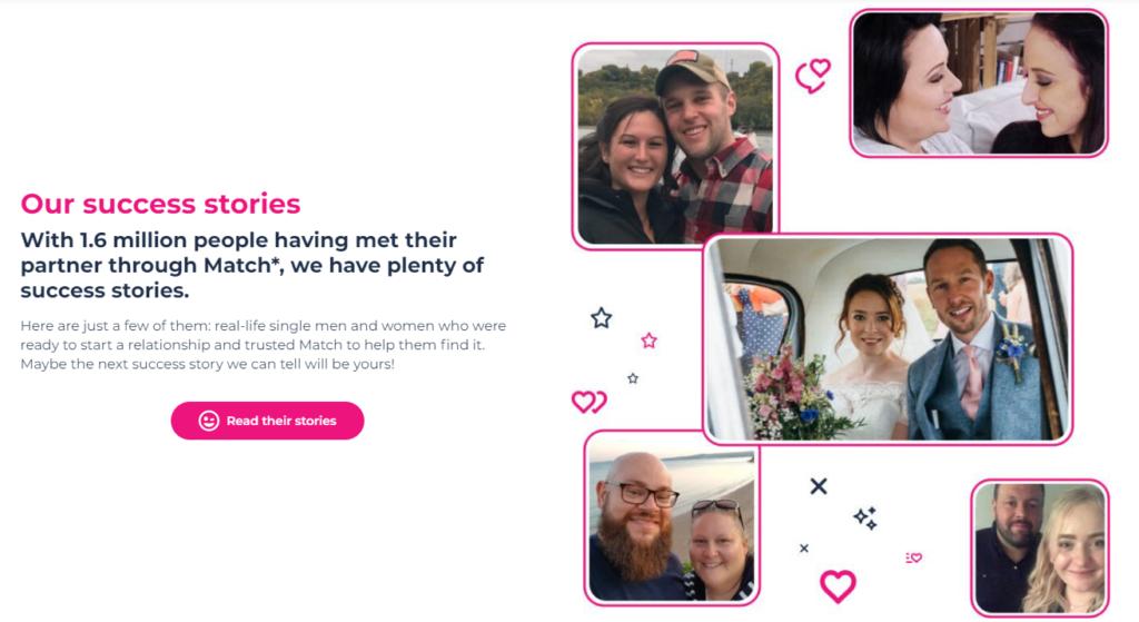 match success stories